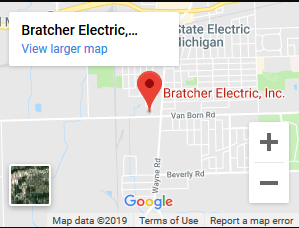 bratcher electric located in wayne michigan